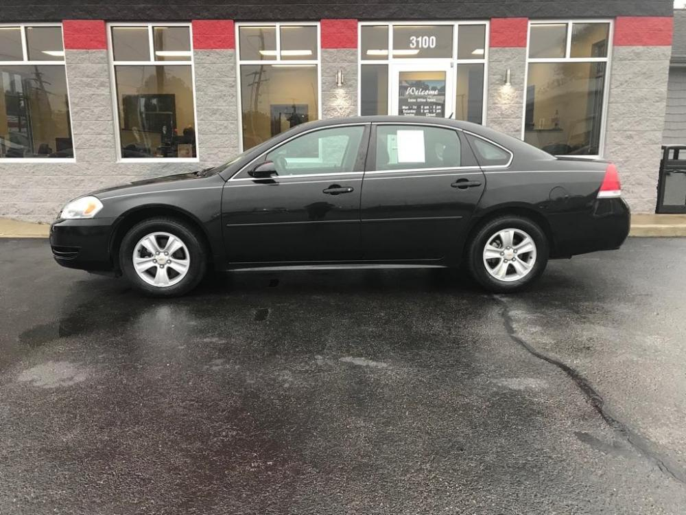 2015 BLACK CHEVROLET IMPALA LIMITED LS (2G1WA5E38F1) with an 3.6L engine, Automatic transmission, located at 3100 Covert Avenue, Evansville, IN, 47714, (812) 473-4492, 37.955418, -87.512238 - Photo #0